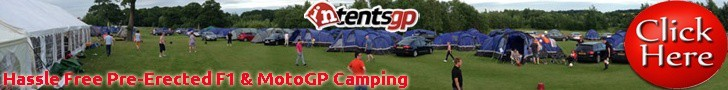 pre-erected F1 and MotoGP camping with intentsGP