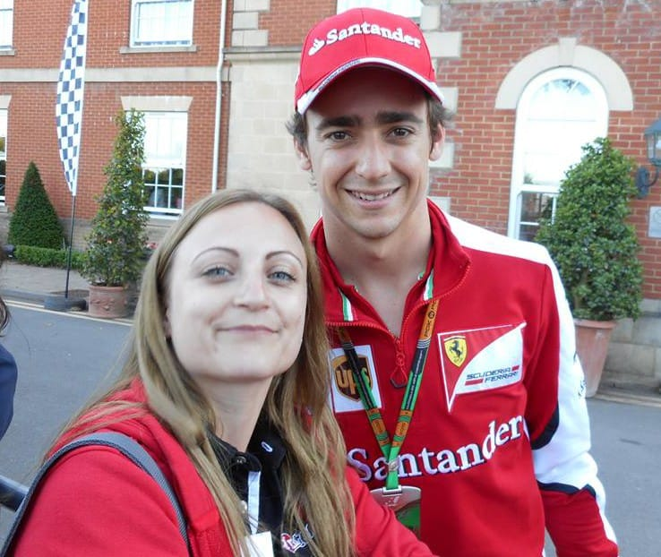 Kiri and Esteban Gutierrez