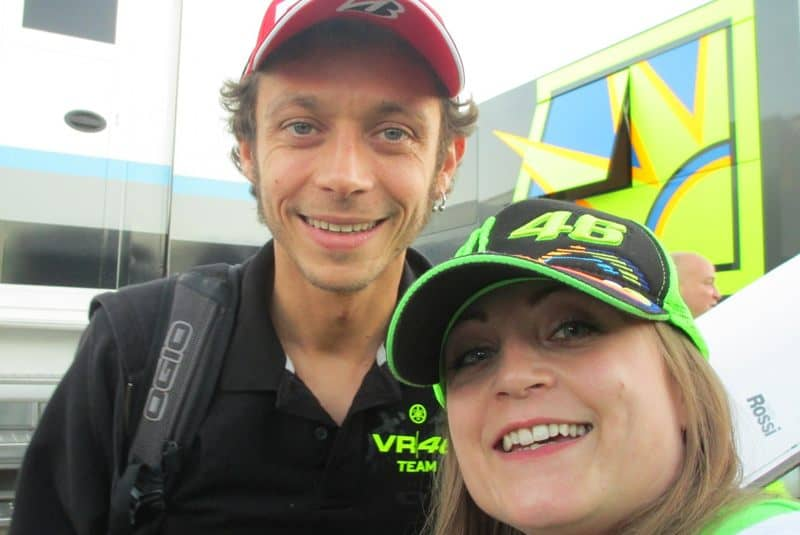 kiri and valentino rossi