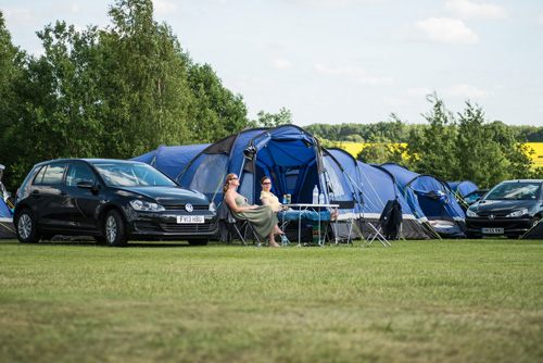 intentsGP camping for F1 and MotoGP